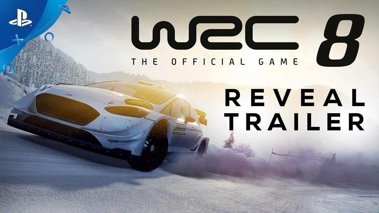 WRC 8 FIA World Rally Championship - Reveal Trailer | PS4