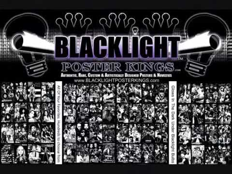BLACK LIGHT POSTER KINGS -Promo 1- feat. Deep Rooted Music Creations