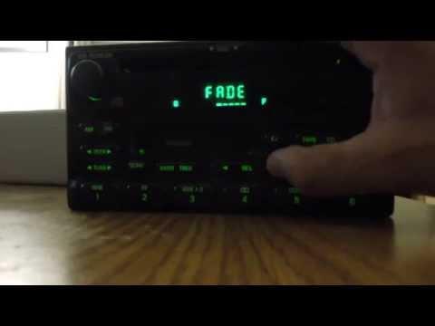 Ford Radio Cassette CD Player Test