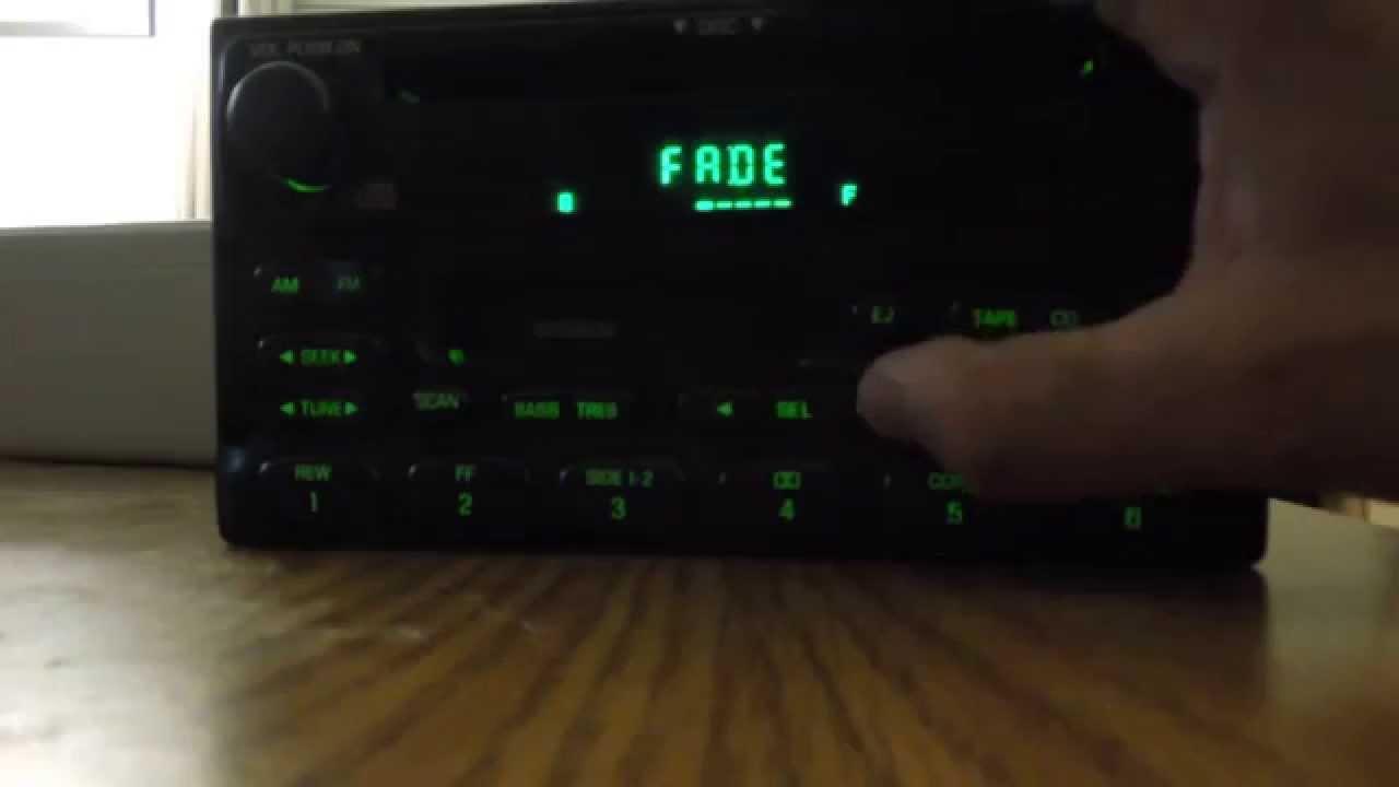 ford radio cassette cd player test youtube. Black Bedroom Furniture Sets. Home Design Ideas