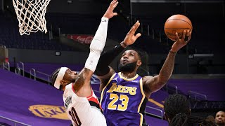 LeBron 4 Steals 3 Blocks Lakers Snap 4 Game Losing Streak! 2020-21 NBA Season