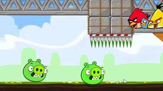 Crush Bad Piggies - Angry Birds Vs Bad Piggies Game