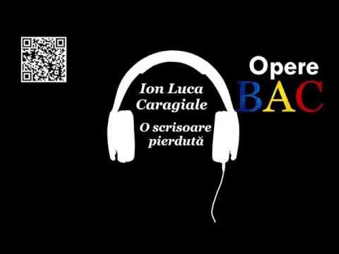 Ion Luca Caragiale - O scrisoare pierdută | Opera dramatica | Comedie