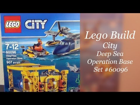 Let' Build - Lego City Deep Sea Operation Base Set #60096 - Part 1