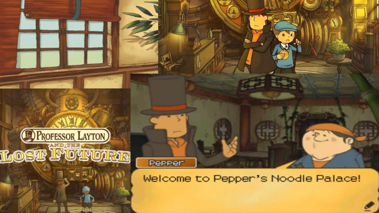 Professor Layton And The Lost Future Walkthrough Part 22 Youtube
