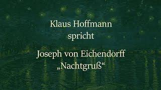 """Joseph von Eichendorff – """"Nachtgruß"""""""