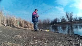 Высокое давление и сильный ветер не отменили выезд на рыбалку