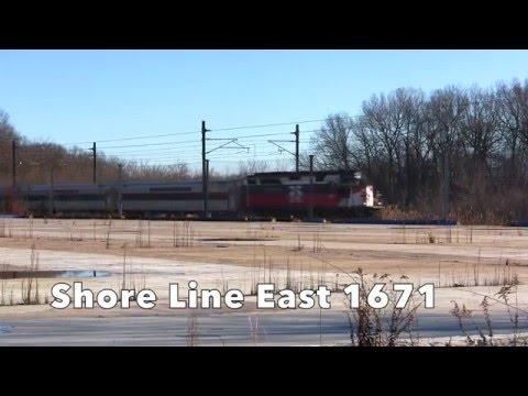 Along the Connecticut Shore Line 12/04/2015
