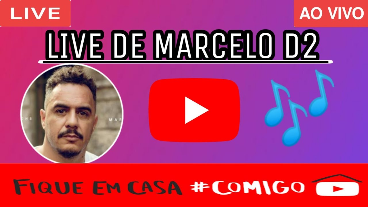 Live Marcelo D2 Hoje Ao Vivo 05 06 2020 YouTube