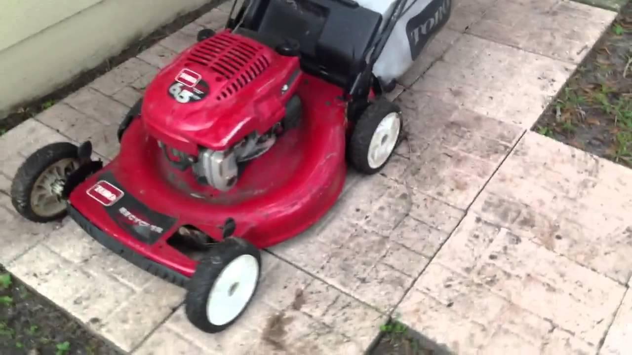 Toro Gts 6 5hp Mower Self Propelled With Bagger