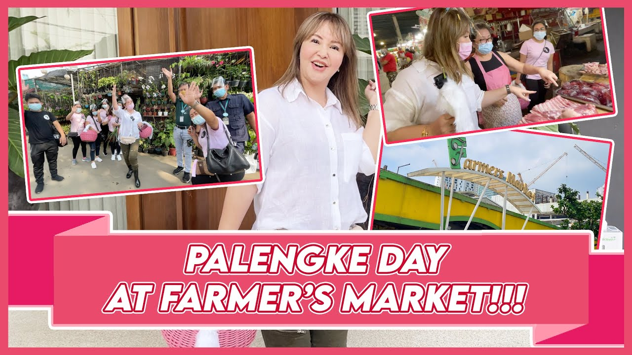 PALENGKE DAY AT FARMER'S MARKET WITH MY ANGELS! | Small Laude