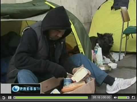 100 000 Homeless On Streets Of France