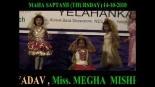 DANCE- AYRE CHUTAY AYE , BY ILORA  MANDAL  GROUP ( 14-10-2010), AT AIR FORCE STATION YELAHANKA