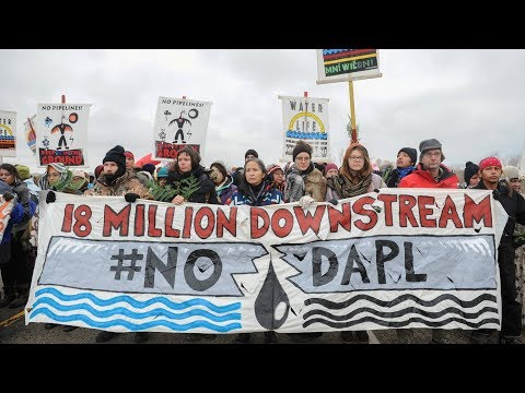 Standing Rock's Fight Against Dakota Pipeline Continues While Tribe Plans for a Fossil-Free Future
