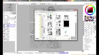 Drawing Manga Pages