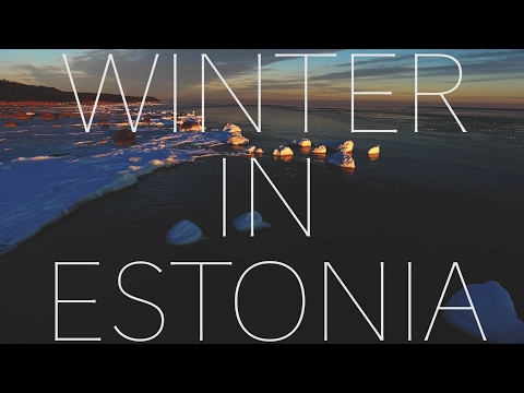 DRONE over ESTONIA in the WINTER (DJI PHANTOM 4)
