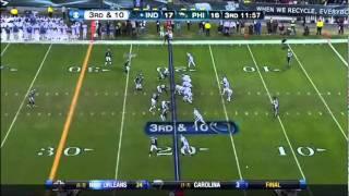 Eagles defensive looks vs Peyton Manning