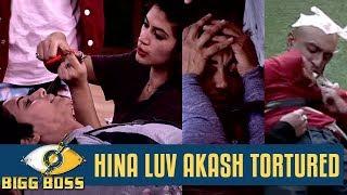 bigg boss 11   punnesh bandgi and shipa take their revenge on hina luv and akash