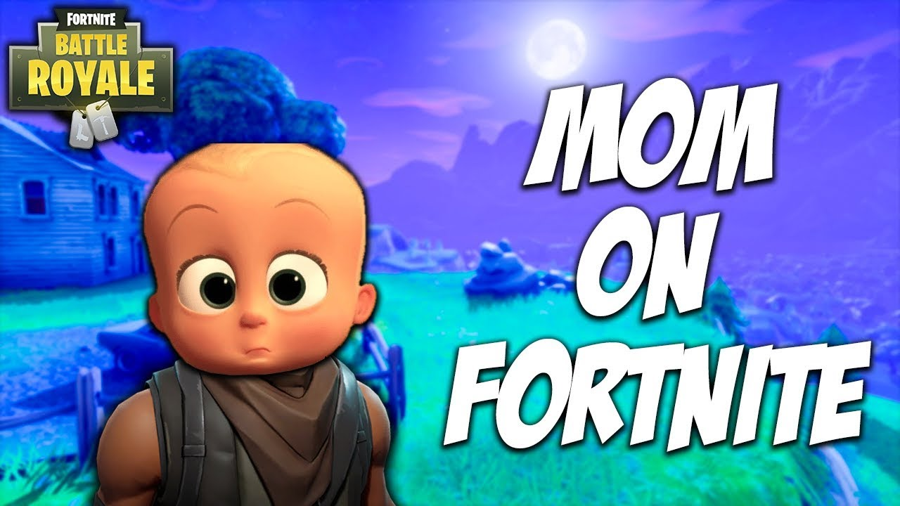 I Found A Mom On Fortnite Fortnite Battle Royale Youtube
