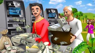 एटीएम चोर हिंदी कहानी | ATM Thief Story | Hindi Funny Kahaniya | Hindi Videos | Maa Maa TV Stories