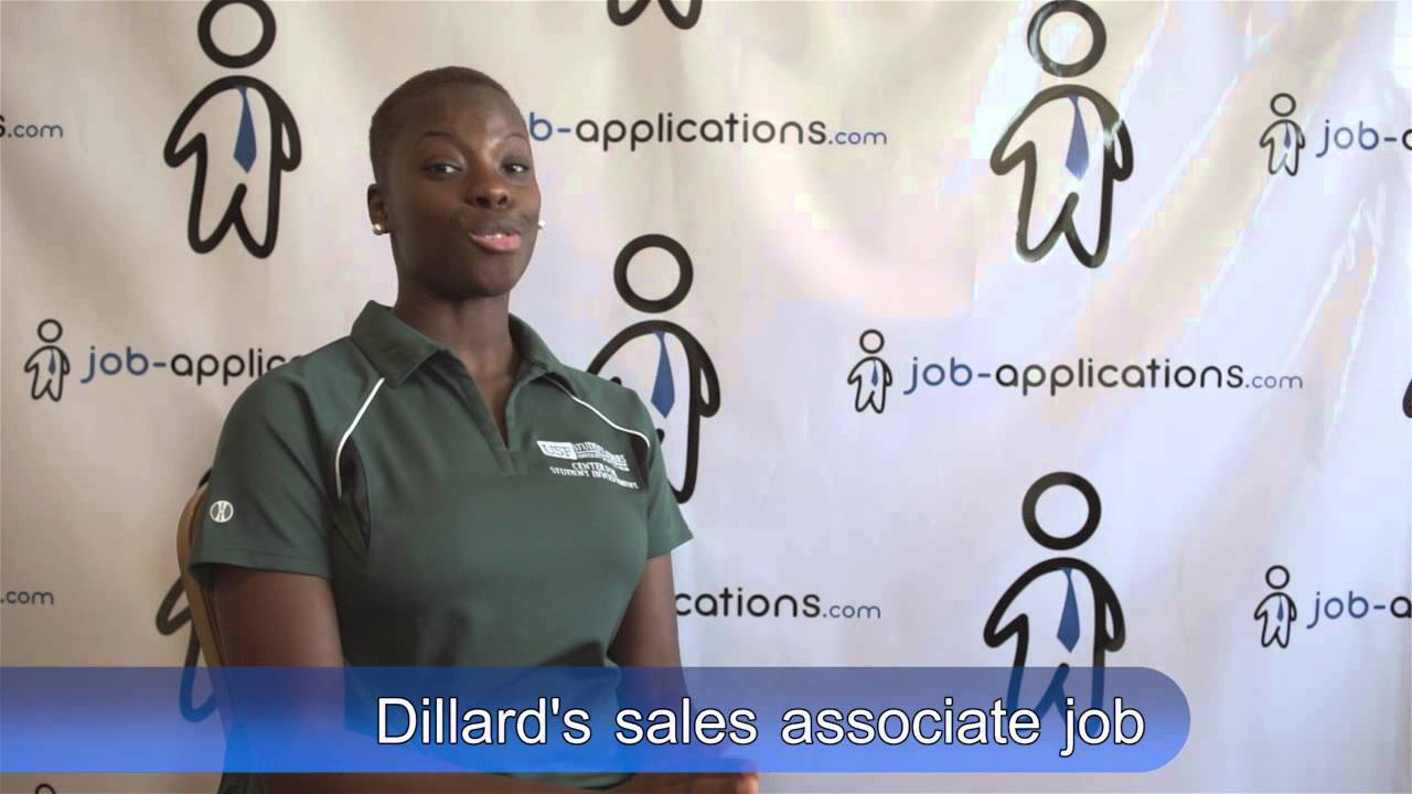 dillard s interview s associate