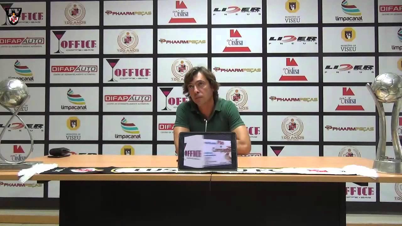 Conferência De Imprensa João Pedro Mariz Final Jogo