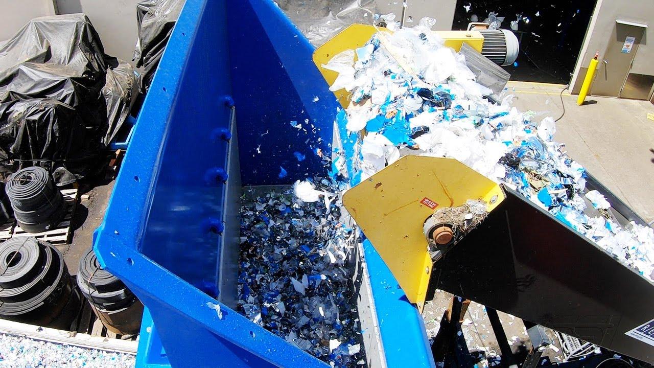 Industrial Shredding System: Film Plastics (SR900)