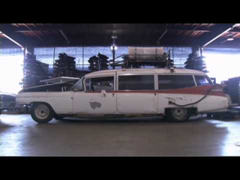 ghostbusters blu ray ecto 1 restoration youtube. Black Bedroom Furniture Sets. Home Design Ideas