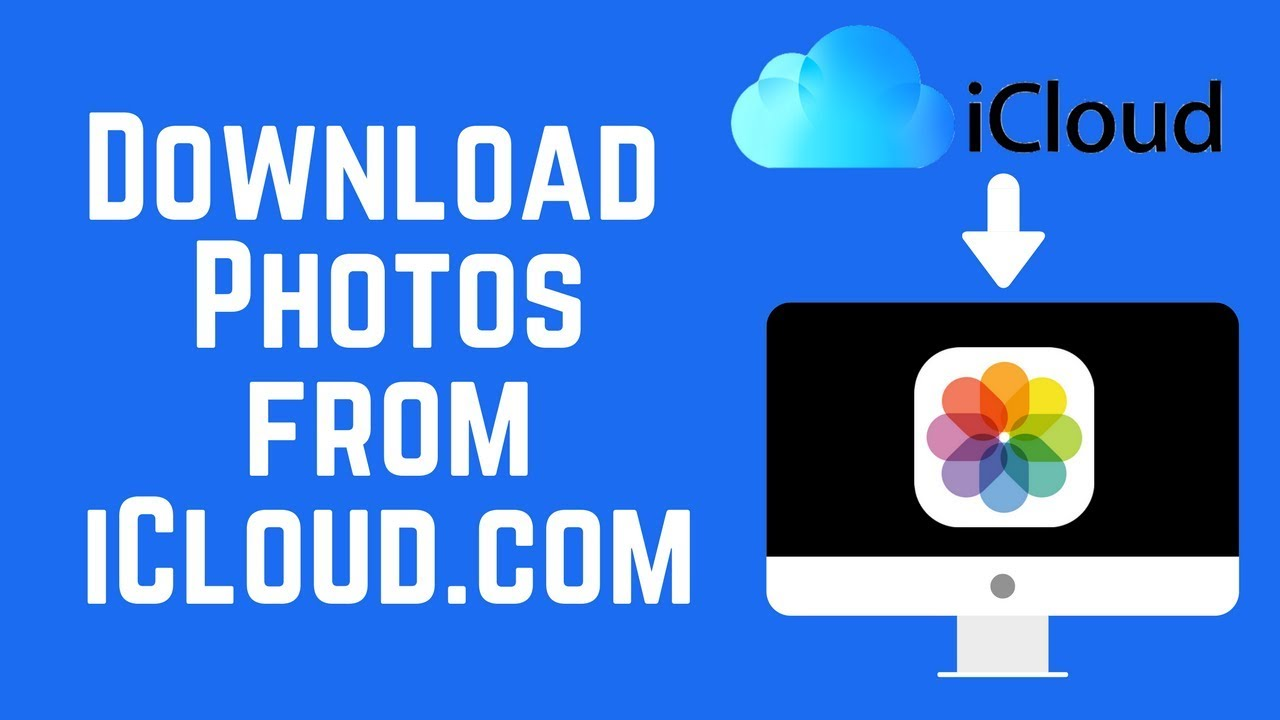 How to Download Photos and Videos from iCloud.com 2018 - YouTube