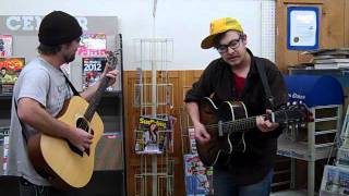 Todd Congelliere and Almighty Do Me A Favor - live at Williams Bookstore, 2/2/2012