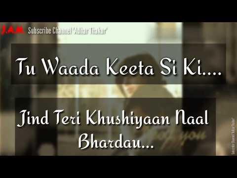 Aadat || Punjabi Song || Ninja || Lyrics