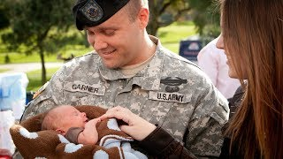 Soldier Meets Baby for the First Time Compilation Part 3