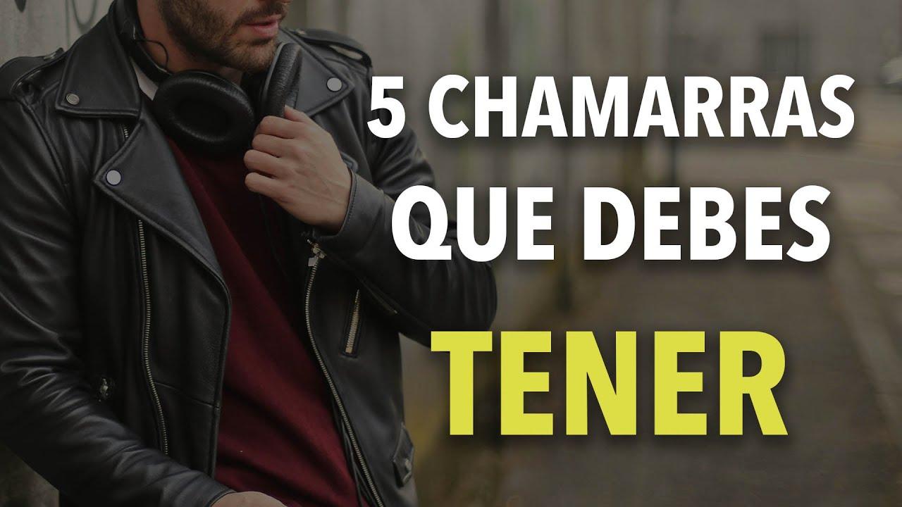 5 CHAMARRAS que todo hombre debe TENER