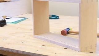 Vertical Grain Douglas Fir Cabinet Build - Part 1