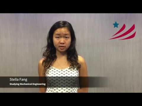 Presidential Debate Questions from WashU Engineers: Stella Fang