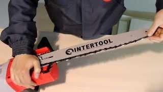 Электрическая цепная пила INTERTOOL DT-2204, обзор(Подробнее: http://bigtool.com.ua/intertool-dt-2204/, 2014-07-30T18:45:26.000Z)