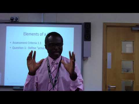 Criminal Law Assignment 1 22092017