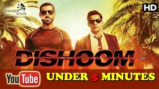 Dishoom (2016) | Full movie | Hindi | English subtitles | 720p | under 5 minutes