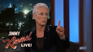 Halloween Star Jamie Lee Curtis Does NOT Like Scary Movies