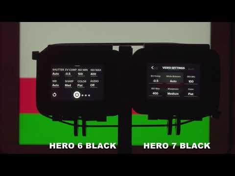 GoPro HERO7 whitebalance preset bug