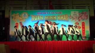 Xuân Minh Khai 2017 - Nhảy hiện đại (11A5 & 11A9)