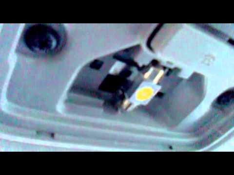 как поменять лампочку стоп сигнала киа сид универсал