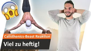 Reaktion auf CALISTHENICS BEAST Nikita wk   Andiletics