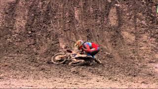 Tim Gajser crash MXGP of Leon Mexico 2015