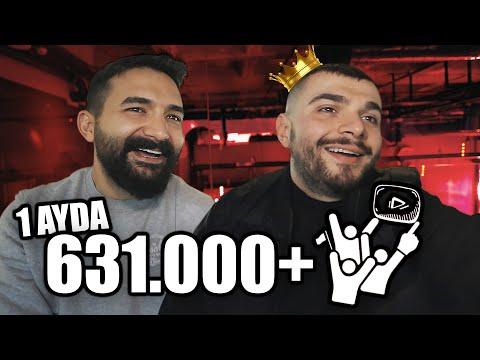 BİR AYDA 600K ABONE! w/  @Ali Biçim 