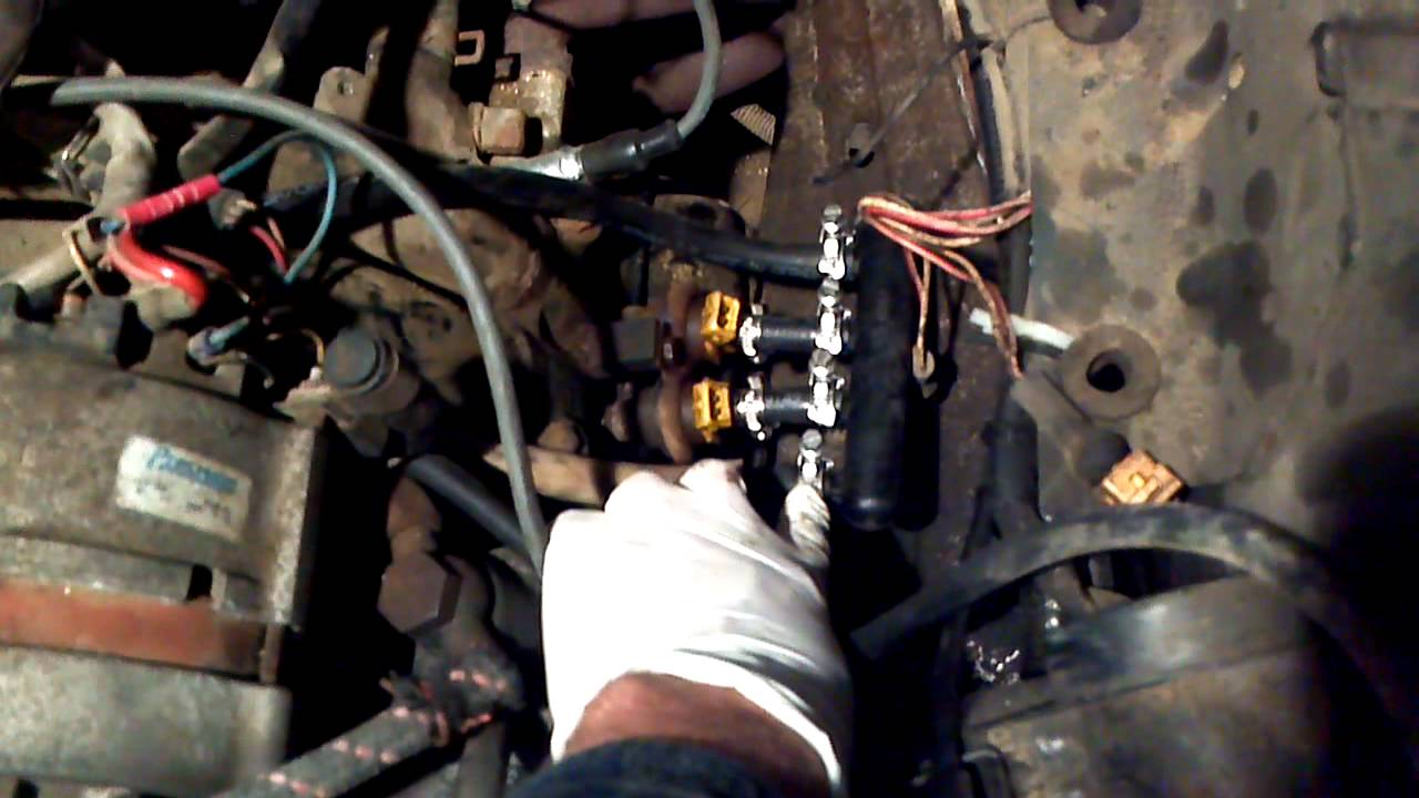 vanagon fuel line replacement youtube
