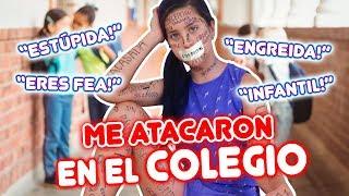 ME ATACARON en mi colegio!! NO PUDE DEFENDERME 😭   Leyla Star 💫