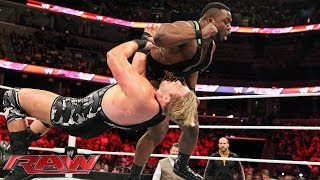 Big E vs. Jack Swagger: Raw, March 10, 2014
