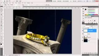 Урок по Adobe Photoshop №1 - object render postprocessing