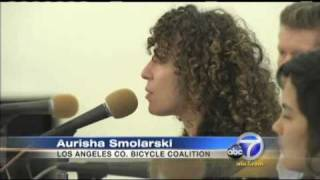 ABC 7 Report on Proposal to protect bicyclists from motorists